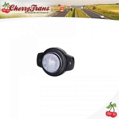 Lampa obrysowa pojedyncza LED - biała