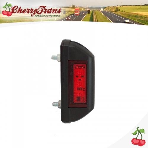 Lampa obrysowa tylna LED - czerwona - BUS