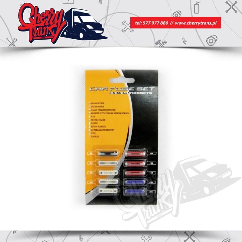 Bezpieczniki samochodowe cylindryczne