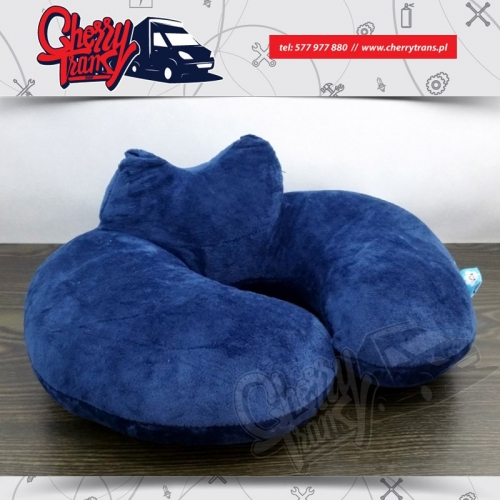 Poduszka podróżna pluszowa