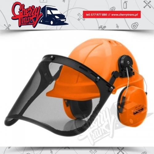 Hełm Walter ABS MAX - Ochrona głowy, oczu i słuchu. Dla pilarza !