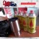 Zestaw - Kuchenka + 4 x Gaz + kubek termiczny