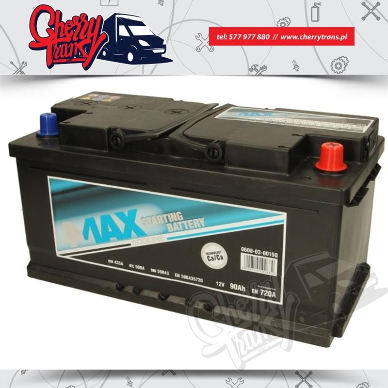 AKUMULATOR 4MAX 90Ah/720A