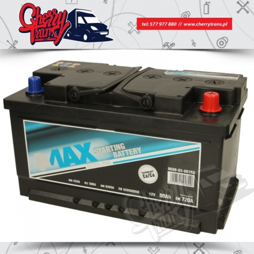 AKUMULATOR 4MAX 80Ah/720A