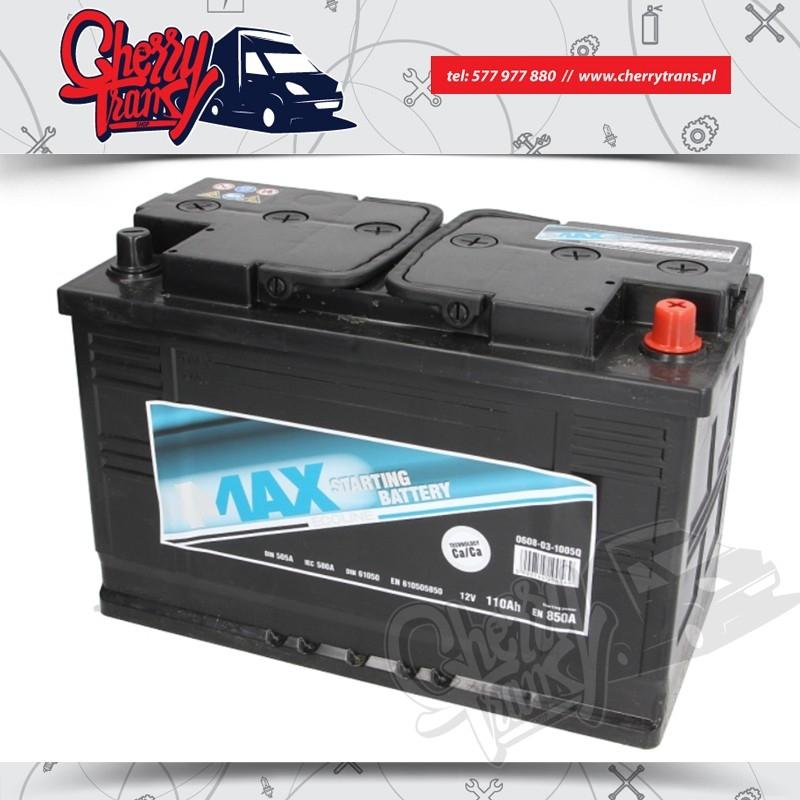 AKUMULATOR 4MAX 110Ah/850A