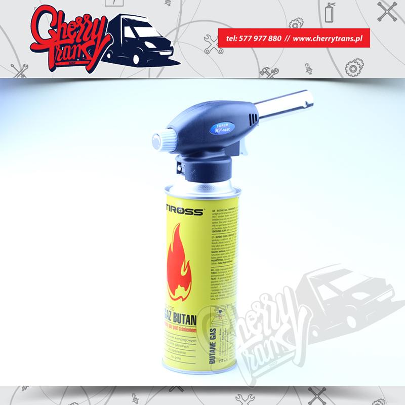Naboj kartusz gazowy do palnika